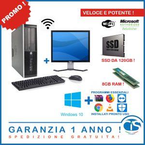 POSTAZIONE 8GB E 120 SSD